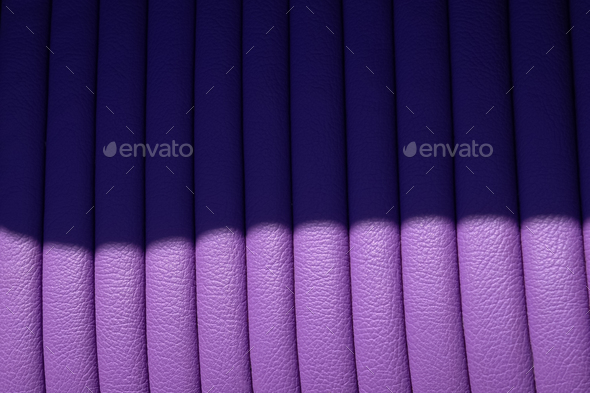 lilac leather - Stock Photo - Images