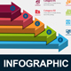 3D Arrow Infographic Elements Template Pack