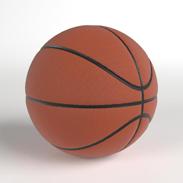 3DOcean Basketball ball 20801038