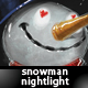 Snowman Nightlight - GraphicRiver Item for Sale