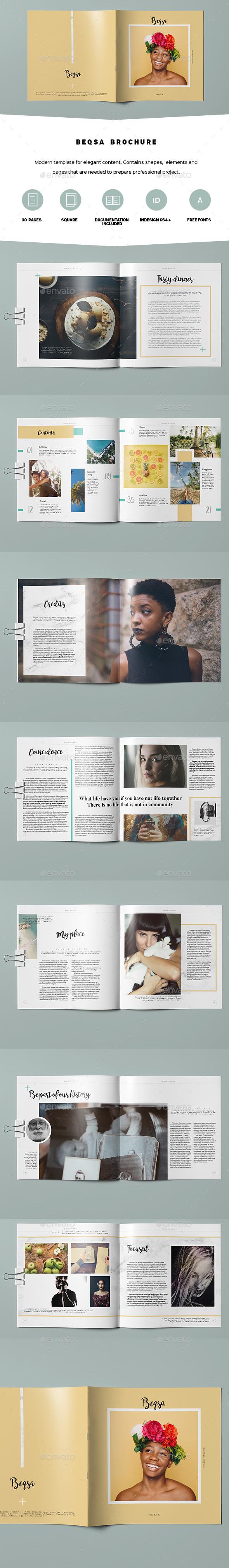 Beqsa Brochure - Portfolio Brochures