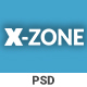 X-zone Corporate PSD Template