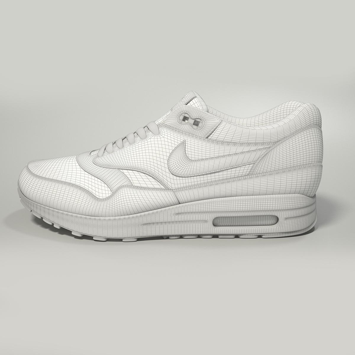 cheap for discount cbeeb 204f7 Nike Air Max 1 3D model