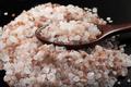 Salt With Spoon on Black - PhotoDune Item for Sale