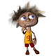 "Cartoon funny character ""Basketball player"""