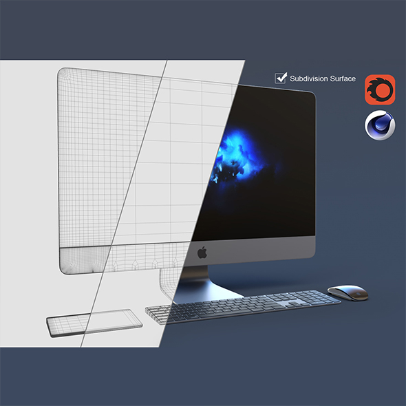 iMac Pro Set - 3DOcean Item for Sale