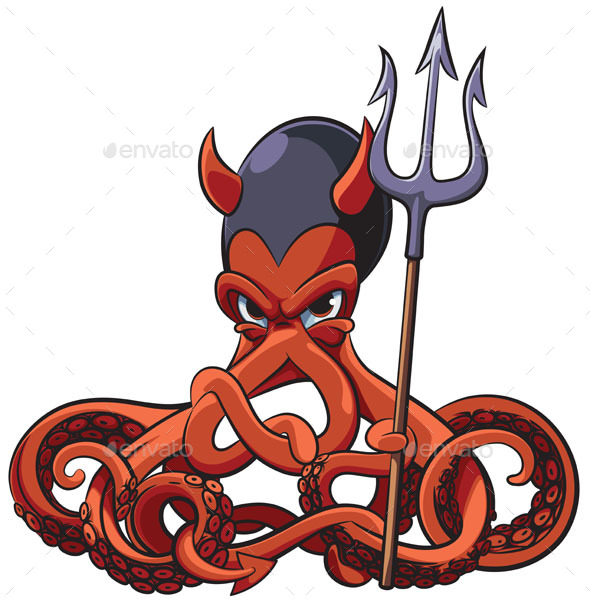 GraphicRiver Octopus the Devil 20802032