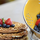 Stack of Waffles and Berries - VideoHive Item for Sale