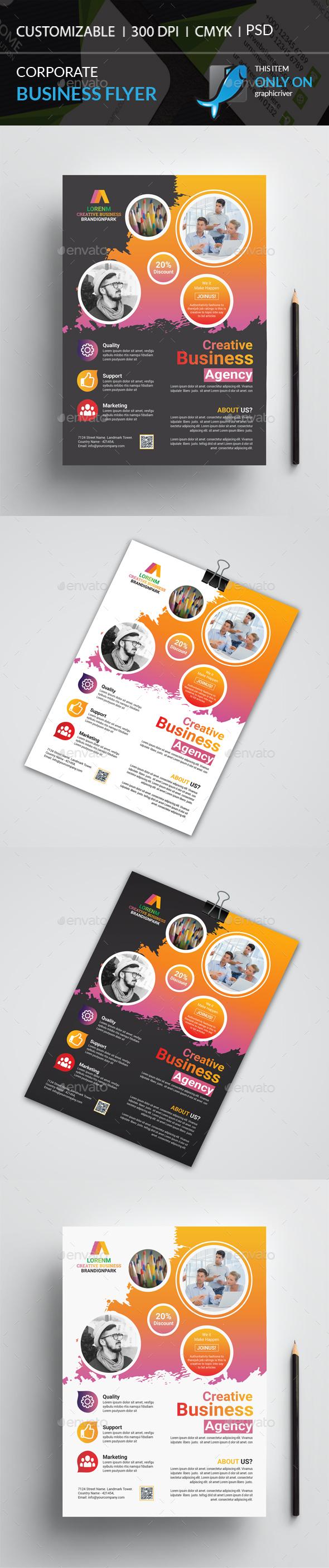 GraphicRiver Corporate Flyer 20802055