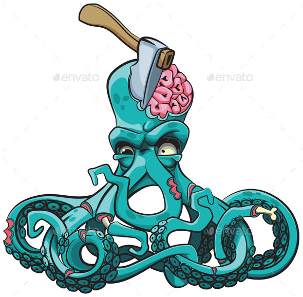 GraphicRiver Octopus the Zombie 20802070