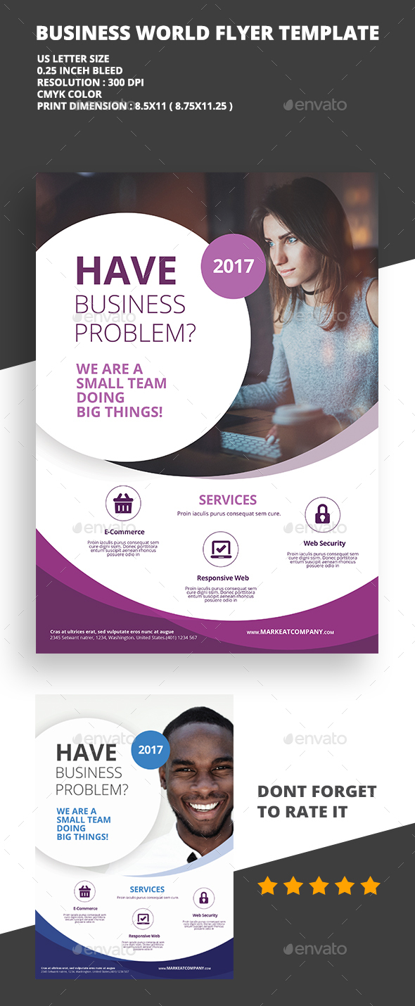 Modern Creative Flyer 6 - Flyers Print Templates