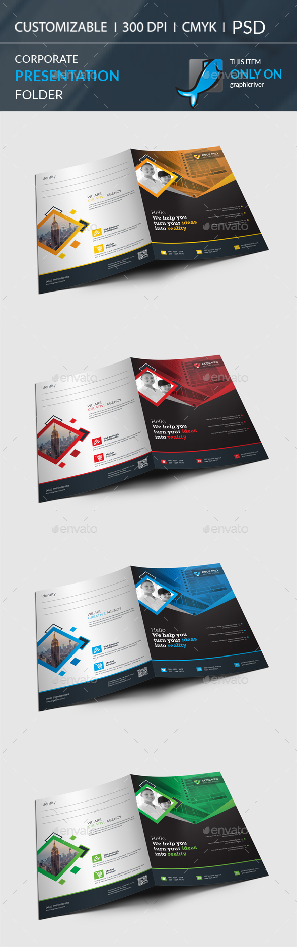 GraphicRiver Presentation Folder 20802198