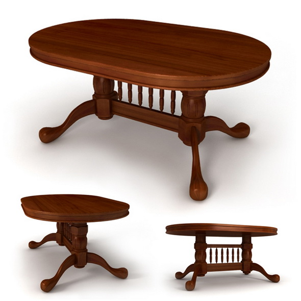 "Dining table ""Malaysia"" - 3DOcean Item for Sale"