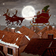 Cartoon Santa Claus On His Sled - VideoHive Item for Sale