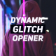 Download Dynamic Glitch Opener from VideHive