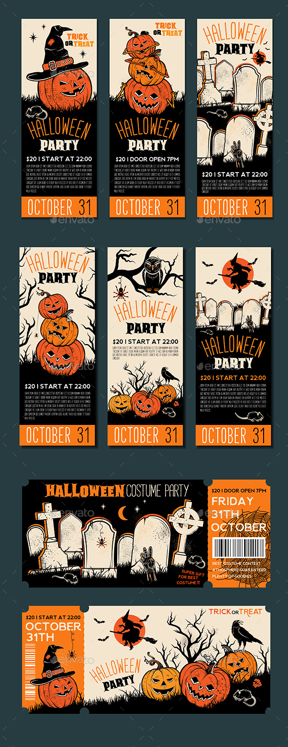 GraphicRiver Halloween Banner Template 20802893