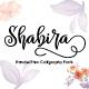 Shabira Font Script - GraphicRiver Item for Sale