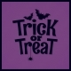 Trick or Treat Halloween Lettering Background - GraphicRiver Item for Sale