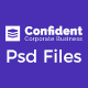 Confident - Business & Agency PSD Template