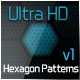 Ulta HD Hexagon Patterns v1 - GraphicRiver Item for Sale