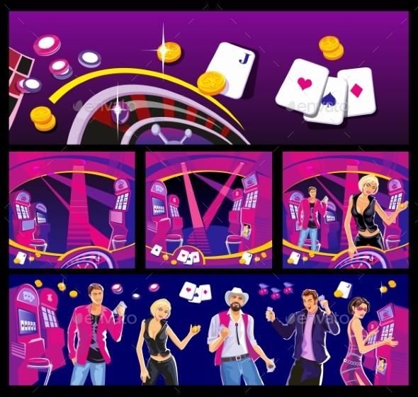 Interior of Casino - Miscellaneous Vectors