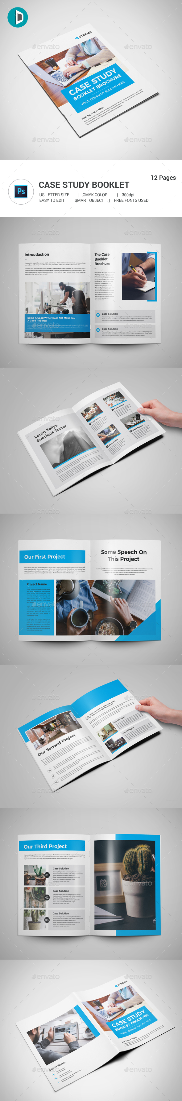GraphicRiver Case Study Booklet 20803571