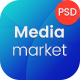 Media Market – Electronics and Gadgets eCommerce PSD template