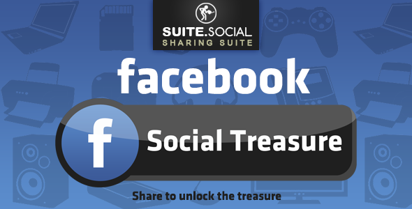 CodeCanyon Facebook Treasure Locker The more you share the closer the treasure 20803714