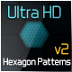 Ulta HD Hexagon Patterns v2 - GraphicRiver Item for Sale