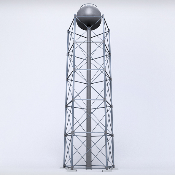 3DOcean Scaffolding radio tower power small 20804011