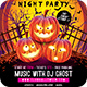 Halloween Night Party Flyer - GraphicRiver Item for Sale