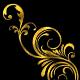 Gold Leaf Flourish - VideoHive Item for Sale