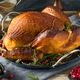 Organic Homemade Smoked Turkey Dinner for Thanksgiving - PhotoDune Item for Sale
