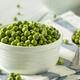 Raw Green Organic English Peas - PhotoDune Item for Sale