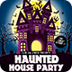 Haunted House Halloween Party Flyer