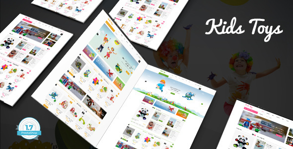 Image of Kids Toys Shop - Responsive Prestashop 1.7 Theme