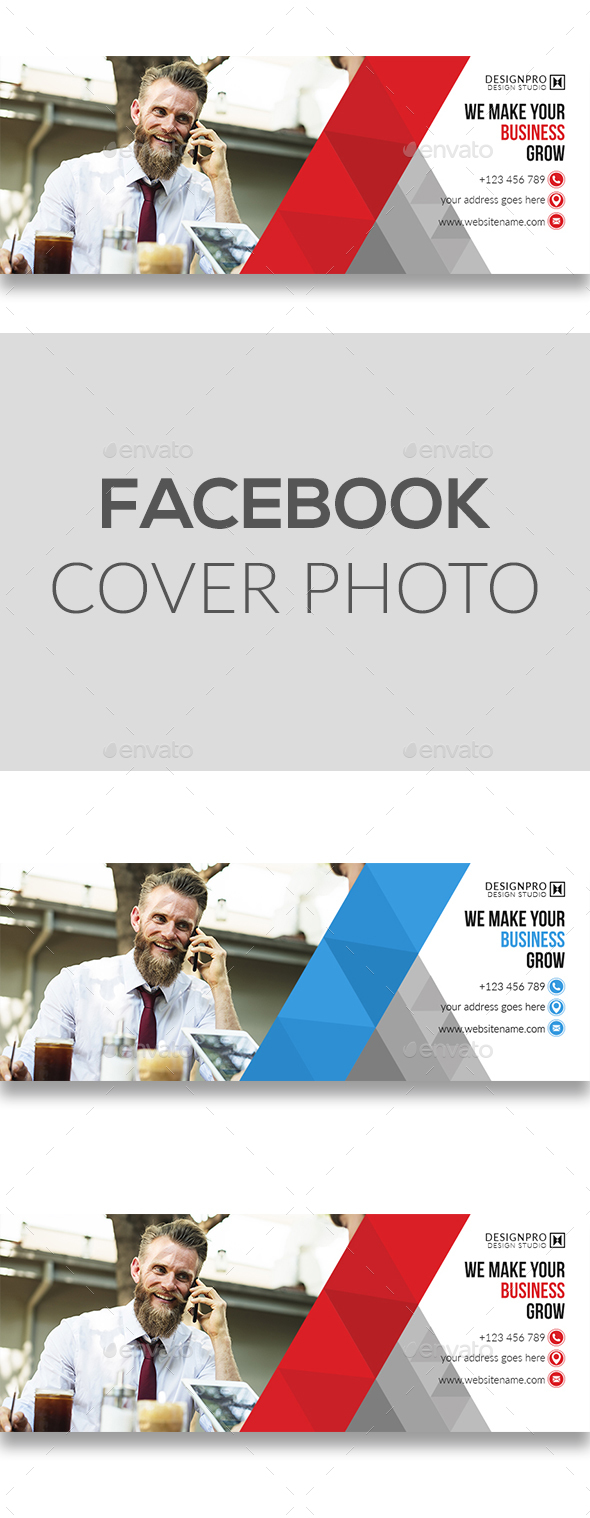 GraphicRiver Facebook Cover Photo 20804612