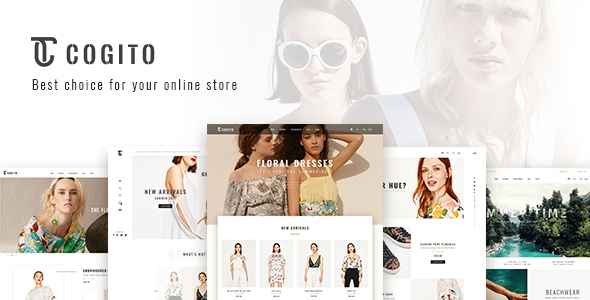 ThemeForest Cogito Clean Minimal WooCommerce Theme 20395536