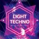 Light Electro Techno Flyer