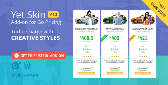 Yet Skin - Add-on for Go Pricing - CodeCanyon Item for Sale