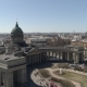 Kazan Cathedral, St. Petersburg Aerial