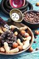 Hookah with a nut taste