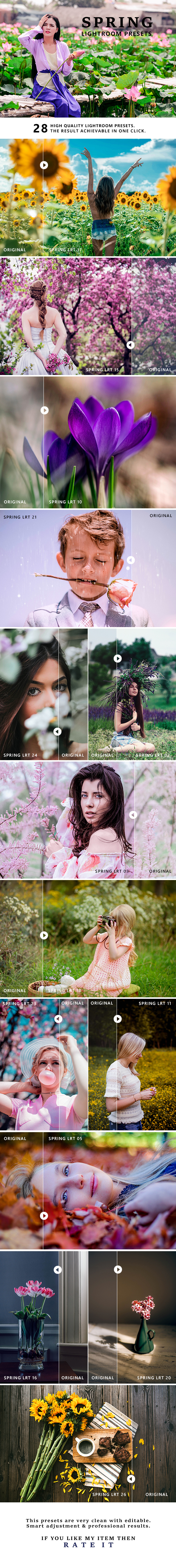 Spring Pro Lightroom Presets - Lightroom Presets Add-ons