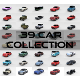 39 Car High Detail Collection
