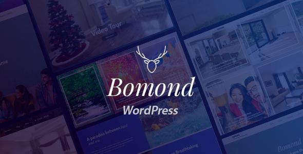 Image of Bomond Hotel WordPress Theme