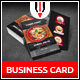 Asian Restaurant Business Card