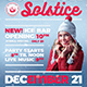 Winter Solstice Flyer Template V3 - GraphicRiver Item for Sale