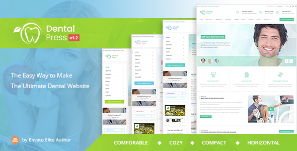 DentalPress - Ultimate Medical Dentist Theme