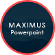 MAXIMUS - Business Powerpoint Presentation Template - GraphicRiver Item for Sale