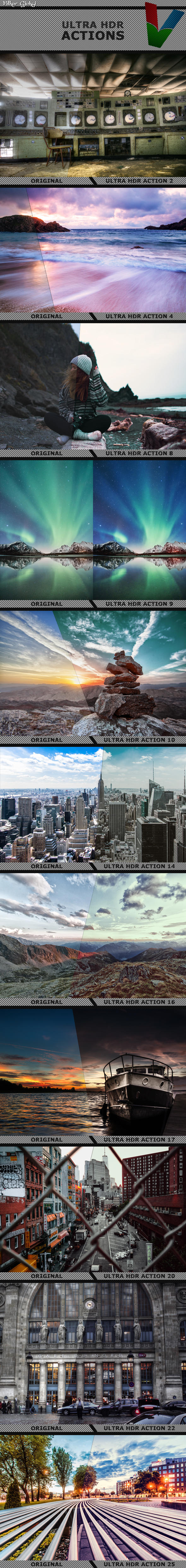 GraphicRiver Ultra HDR Actions 20806544